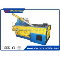 Copper Wires Scrap Metal Baler Baling Equipment 250 × 250mm Bale Size Manufactures