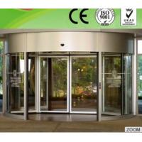 Professional Flat / bent tempered glass Curved Sliding Door for Theatres Manufactures