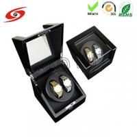 China Factory made high quality glossy finish custom Ultra-quiet Motor Wood Automatic watch winder on sale