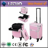 LT-MCT0065 China online shopping new aluminum bag aluminum beauty trolley case Manufactures