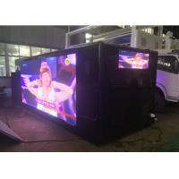 Advertising Mobile Digital Billboard Truck , P5 / P6 Led Video Truck Manufactures