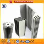 Heat Broke Aluminum Frame Profiles Sound Insulation Impact Resistance Manufactures