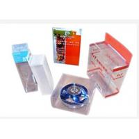 Quality Rectangle Collapsible Plastic Box , UV Offset Printing PVC Plastic Box for sale