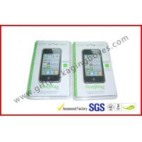 Fashion Clear Fold Plastic Clamshell Packaging Boxes For Iphone 5s Case Manufactures