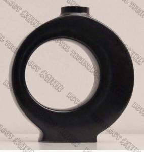 China Ceramic Vase / Jars TiN Coating Equipment ,  Matt Black and Gold PVD Ion Plating Equipment on sale
