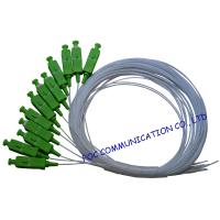 Simplex Fiber Optic Pigtail SC / APC  SM G.657A2 , Bend Insensitive For Telecom Manufactures