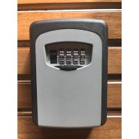 Zinc & Aluminum Alloy Digital Door Key Safe Lock Box Wall Mount for Real Estate Manufactures