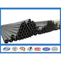 China ASTM A36 500KGF Design Load 30FT 11.9M Electric Power Pole for Philippines Transmission Line on sale