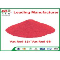 China Alkali Resistance Permanent Fabric Dye C I Vat Red 13 Vat Red 6B Dyestuffs on sale