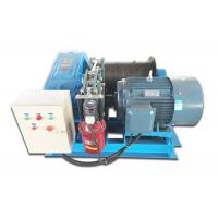 Hydraulic Wire Rope Electric Winch , 10T Electric Power Winch For Construction Site Manufactures