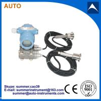 China Remote double clamp intelligent differential pressure transmitter on sale