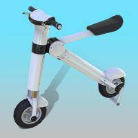 12 Inch Disc Brake Foldable Electric Scooter / Bicycle For Adults 35KM/H Manufactures