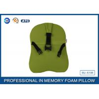 Comfortable Relieving Back Pain Car Memory Foam Neck Pillow , Car Driver Pillow Manufactures