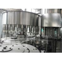 China High Efficiency Drinking Water Bottling Equipment , SUS304 Stainless Steel Liquid Filling Machine on sale