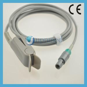 Quality Comen C60/C80 Oximax Pediatric finger clip spo2 sensor,8pin 40 degree;3M;TPU for sale