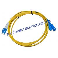 FTTH Fiber Optic Patch Cord Low Insertion Loss LC - SC Duplex Manufactures