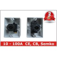 Polycarbonate Box IP65 10A 16A 20 AmpRotary Switch waterproof Isolator Manufactures