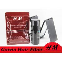Customised Size Hair Styling Fiber , Grey Hair Thinning Powder Bag Style