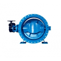 China DN700 Double Eccentric Double Flange Butterfly Valve on sale