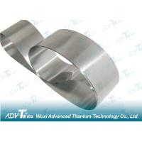 Cold Rolling Titanium Strip Coil ASTM Standard For Minerals & Metallurgy Manufactures