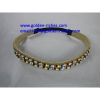 Fashion Hairband with beads decorated Manufactures