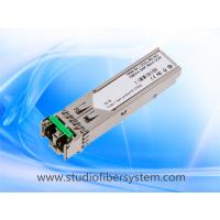 155M 1310nm SFP transceiver module over 1 single mode fiber to 80KM Manufactures