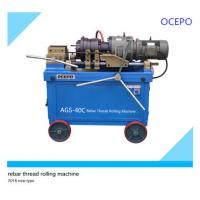 China OCEPO Rebar Thread Rolling Machine could customize wholesale