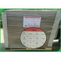 Folder Cover Grey Cardboard Sheets 1mm 2mm 2.5mm Thick With High Smoothness Manufactures