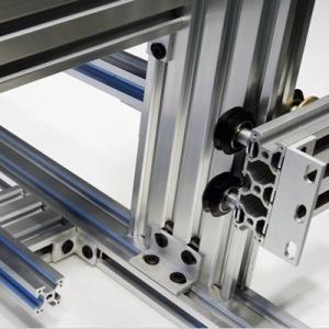 Electrophoresis Anodized Aluminum Profiles Industry Aluminium Silver Black