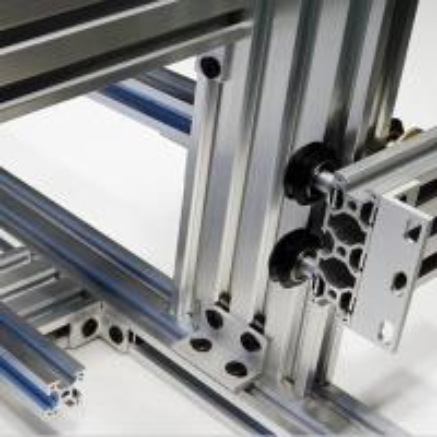 Quality Electrophoresis Anodized Aluminum Profiles Industry Aluminium Silver Black for sale