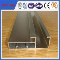 aluminium profile system in China factory,aluminium frame profile for glass Manufactures