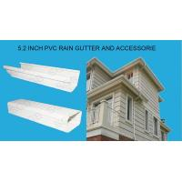 2015 Hotsale 7 Inch Vinyl Rain Gutter And Downspout For