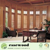 2.5 Inch 3.5 Inch 4.5 Inch Louver  Customized Wooden Plantation Shutter Manufactures