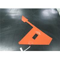 High Thermal Efficiency Electric Silicone Rubber Heater OEM / ODM Available Manufactures