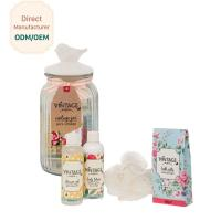 China Luxury Bath Time Gifts Romantic Vanilla Fragrance With Natural Argan Oil on sale