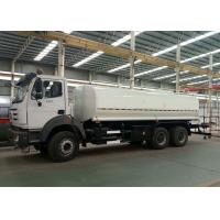 China Multi Functional Water Transport Truck , 6x4 20000L Water Tank Truck With Sprinkler Pump on sale
