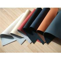70% Cow Leather Car Upholstery Fabric With Magnolia / Ivory Color