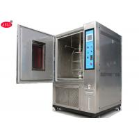 Xenon Arc Lamp Accelerated Aging Solar Simulator Test Chamber Customized Size In SS304 Material Manufactures