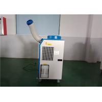 Floor Standing Spot Cooling Units Fully Rotary Compressor For Factory Workstation Manufactures