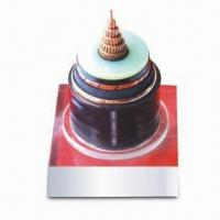XLPE Insulated Electrical Cable with 127/220kV Voltage, Corrugated Aluminum and PE Outer Sheath Manufactures