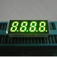 0.32 Inch Green 7 Segment Led Display Temperature Humidity Indicator Four Digit Manufactures