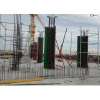Easy Connection Column Formwork Systems Steel Frame / ABS Coating Plywood Material Manufactures