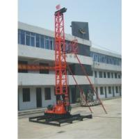 China Flexibly hydraulic rig machine , Borehole Drilling Equipment on sale