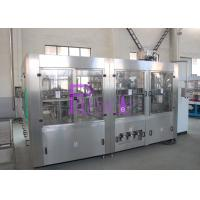 Buy cheap Automatic 3 in 1 Soft Drink Bottling Equipment Food Stage Stainless Steel from wholesalers