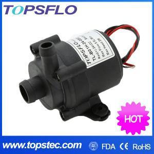 TOPSFLO DC centrifugal pump/mini water heating pump/ silent circulating heated blanket pump TL-B01 Manufactures