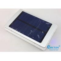 China 10000mAh High Capacity Portable Solar Power Bank For Mobile Phones And Tablets on sale