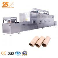 Paper Rolls Microwave Drying And Sterilization Equipment 400-500 Kg/H Manufactures