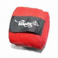 China Martial Art/TaiKungDao Belt, Customized Logos and Colors are Accepted, Made of Elastic Tape on sale