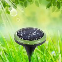 waterproof 8 LED solar power ground lights for outdoor Manufactures