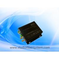 3GSDI fiber converters for 1CH full HD1080P 60HZ SDI and 1 RS485/RS232/RS422  transmission in a fiber ,no delay Manufactures